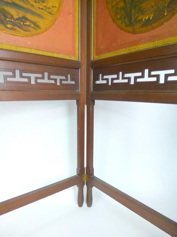 paravent china 19 jh screen ebay. Black Bedroom Furniture Sets. Home Design Ideas