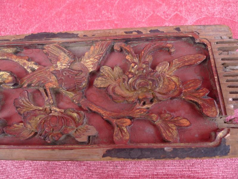 antike schnitzerei holz geschnitzt und gefasst china. Black Bedroom Furniture Sets. Home Design Ideas