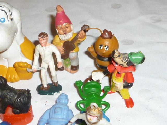 Alte Werbefiguren