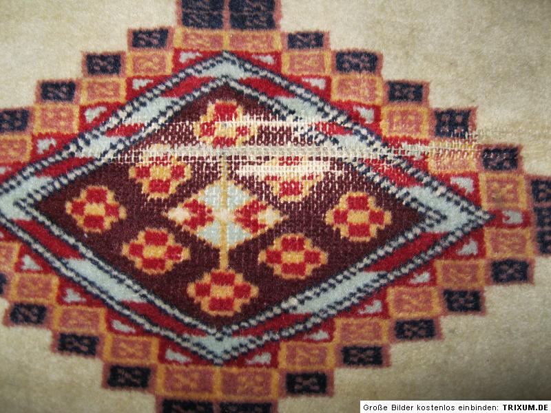 alter kleiner heller teppich orientteppich ca 60 x 90 zarte farben ebay. Black Bedroom Furniture Sets. Home Design Ideas