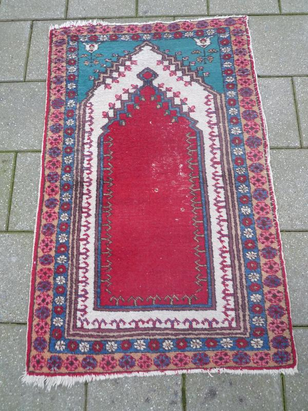 antico Gebehtsteppich__ tappeto orientale____  eBay