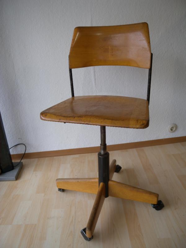 stoll giroflex bauhaus architektenstuhl b rostuhl. Black Bedroom Furniture Sets. Home Design Ideas