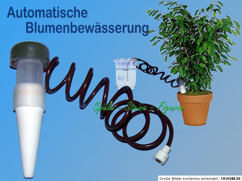 automatische bew sserung f r topfpflanzen blumentopf wasserspender gie kanne ebay. Black Bedroom Furniture Sets. Home Design Ideas