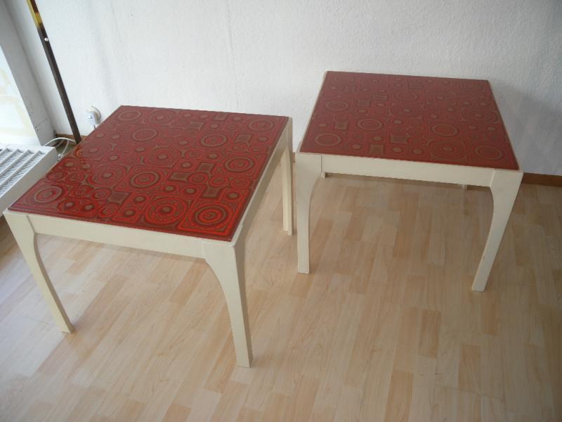 1er von 2 design beistelltisch tisch couchtisch space for Design tisch 70er