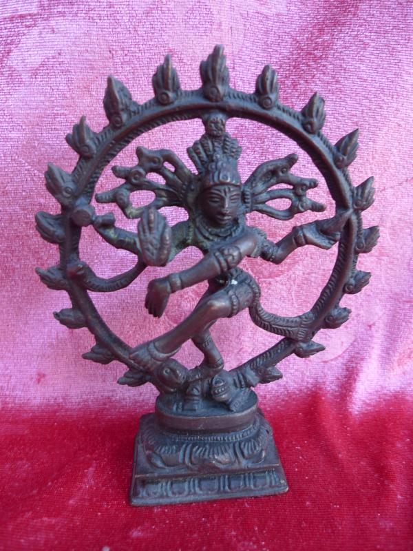 sch ne alte bronze indische g ttin shiva bronzefigur ebay. Black Bedroom Furniture Sets. Home Design Ideas
