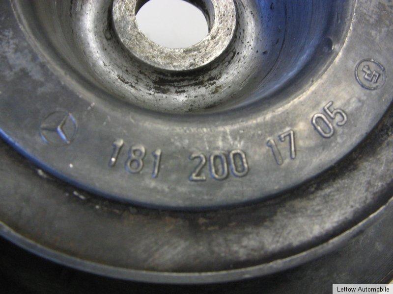 Mercedes Benz 170 W136 Riemenscheibe Kurbelwelle #181 200