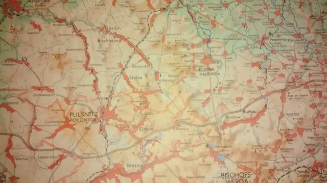 2 Stück Karte Landkarte Kreis Kamenz Bischofswerda DDR 1:100000 Königsbrück