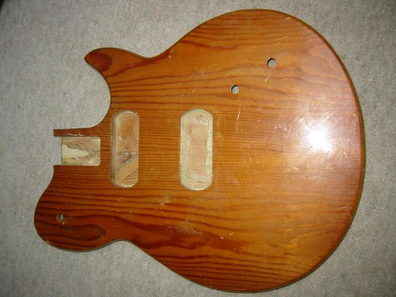 Details about Old guitar body, natural furnish probably Hofner, German Made  approx  1960 NOS