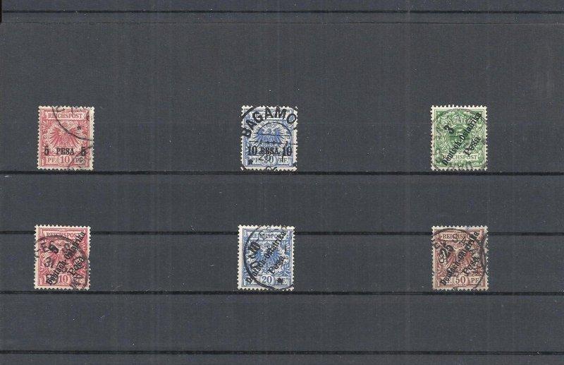 dap, deutsch-ostafrika, 1893 - 1906, einzelmarken aus