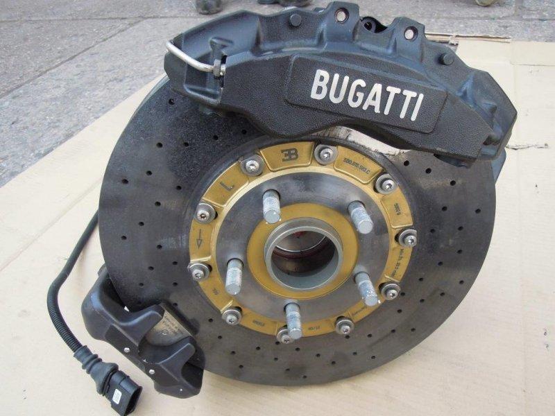 bugatti veyron bremsanlage hinten ha achsschenkel bremse. Black Bedroom Furniture Sets. Home Design Ideas