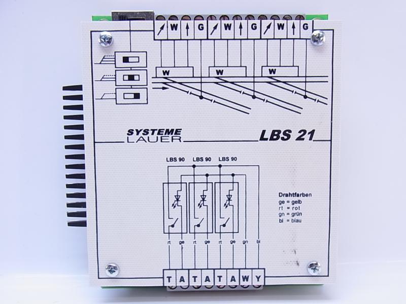 49297 Systeme Lauer elektronische Schattenbahnhofsteuerung LBS 21 ...