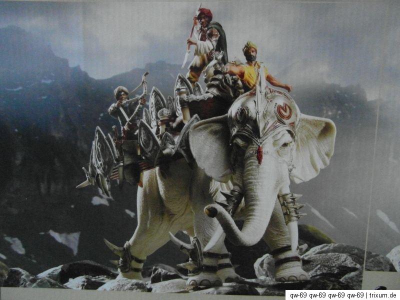 samurai 2 combattants 72010 pour 70063 42079 Schleich combat éléphant avec dissertation