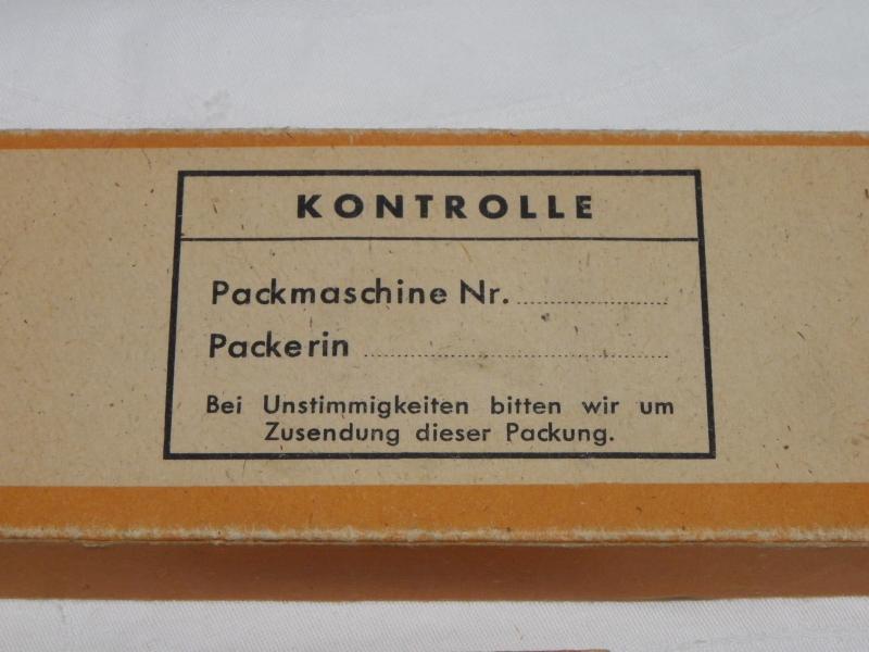 um 1930 2 Packungen Fledermaus Rasierklingen