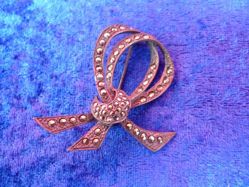 Antikschmuck Schmuck & Accessoires Freundlich Bijou Jeunesse Günthner Vintage Designer Brosche Aus 925 Silber