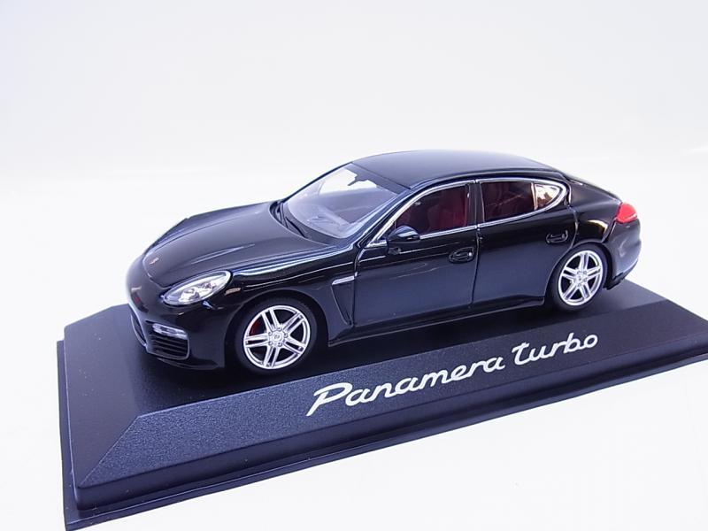 55337 Minichamps Porsche Panamera turbo S Typ 970 Modellauto grau 1:43 NEU OVP