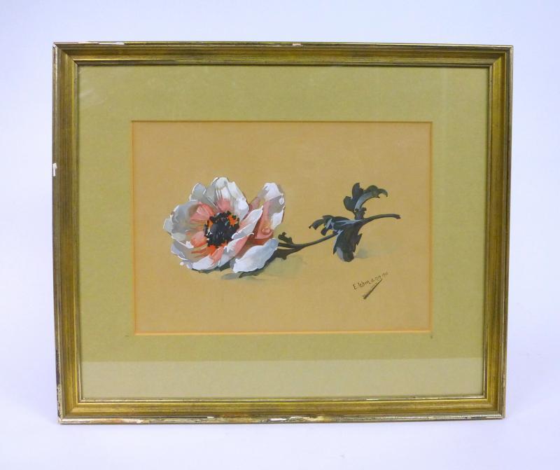 gem lde bild sign lehmann weihnachten 1913 ebay. Black Bedroom Furniture Sets. Home Design Ideas